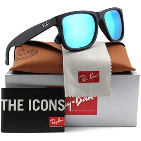 be74522ff6 Lentes De Sol Ray Ban Wayfarer Justin RB4165 622/55 Mirror 54mm