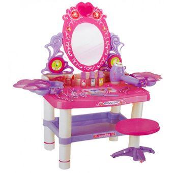 Compra juguete mrs toys tocador con luces y sonidos rosado online linio chile - Tocador infantil ...