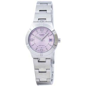Reloj Casio Dama Modelo Ltp-1241d-4a Com Fecha Fondo Rosa Original dc61caa9ee04