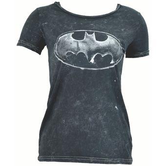 Compra Playera Batman Algodón Cuello Redondo Mujer Original Toxic ... 487962323286