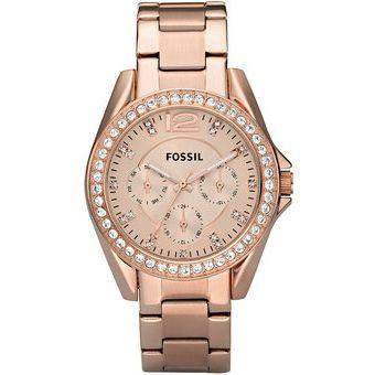 b9cef9cca6f0 Compra Reloj Fossil ES2811 Oro Rosa - Mujer online