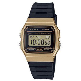75c23360bdc0 Compra Reloj Casio Vintage F91 Dorado Con Negro online