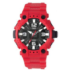 bd37ce797dac Reloj Q Q GW82J005YDeportivo Para Caballero Rojo- Negro- Blanco