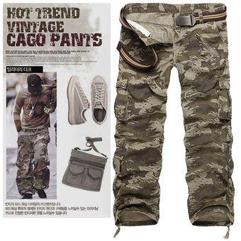 Compra Pantalones Hombre Tácticos Sueltos Holgados Para Hombres(sin ... 00f66ca8e2d6