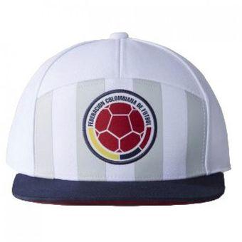 Compra Gorra Adidas Selección Colombia Blanca online  c4e3a08d547