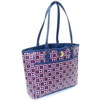 818d47c8797 Compra Cartera Tommy Hilfiger Mujer - Azul rojo Cuero online