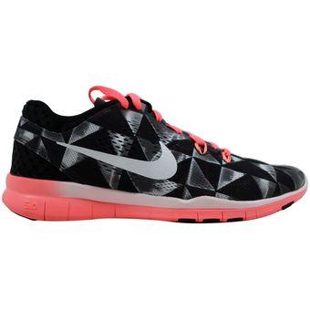 Tenis de mujer Nike Free 5.0 TR Fit 5 Print 704695 006 Negro