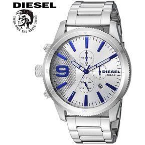 4e8325819e85 Reloj Diesel Rasp Chrono DZ4452 Cronómetro Fecha Acero Inoxidable - Plateado