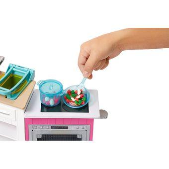 Compra Cocina De Lujo Barbie Frh73 Multicolor Online Linio Mexico