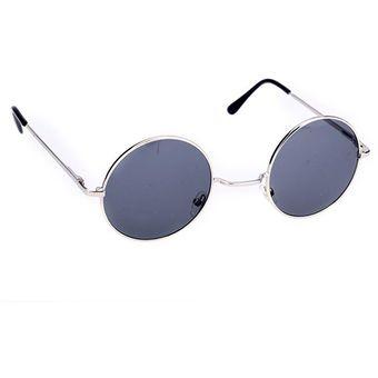ec66d57c02 Agotado Nueva Moda Estilo Vintage Unisex Marco Lente Retro Redondas Gafas  De Sol - Azul