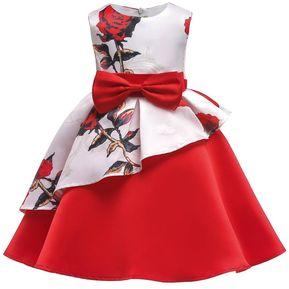 658731110 Vestido de fiesta niña vestido de niña de flores