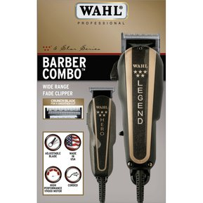 Máquina Wahl Barber Combo Legend Y Trimmer Hero Profesional 41810e29b760