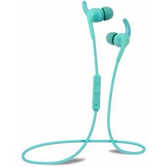Audífonos Bluetooth Manos Libres Inalámbricos, H2 Auricular Impermeable Del Funcionamiento Del Gimnasio De La Gimnasia En El Oído Auricular De Alta Calidad Real De Audifonos Bluetooth Manos Libres  (azul)