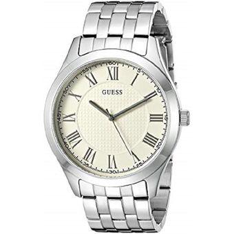 Compra Reloj Guess U0476G2 Análogo Plateado Para Hombre online ... 9d0c0fa57b4b