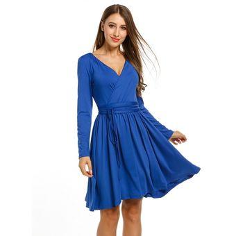 Cinturon para vestido azul