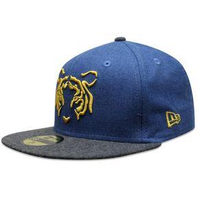 4b9b63f31f204 Gorra New Era 59 Fifty LMX Tigres Open Market Azul