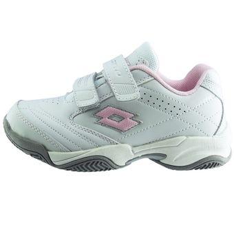 Zapatos blancos Lotto infantiles V1Ftf