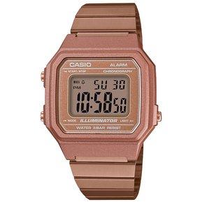643e3b928983 Reloj Casio Retro Digital Oro Rosa B650wc-5a Oro Rosa -Cobrizado