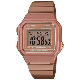 96a7ad110894 Compra Reloj Casio Retro Digital Oro Rosa B650wc-5a Oro Rosa ...
