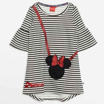 Vestidos Minnie Para Niña Negro