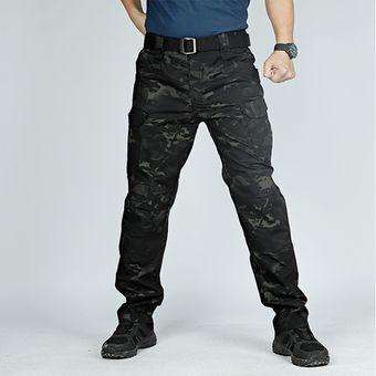 Pantalones Camuflados Para Hombre Pantalones Militares De Bolsillo Multiple Elasticos Para Hombre Pantalones Para Correr Al Aire Libre Pantalones De Talla Grande Pantalones Tacticos Para Hombre Wan Dark Camouflage Linio Mexico