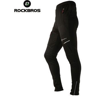 Pantalones De Ciclismo Termicos Para Hombre Equipo Deportivo Para Exteriores Resistente Al Viento Con Cintura Elastica Para Otono E Invierno Linio Peru Ge582sp0y296flpe