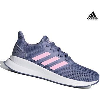 05a712a9 Compra Zapatilla Adidas Runfalcon Para Dama - Lila online | Linio Perú