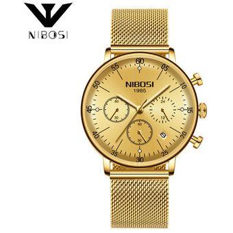 8f7deebdab5c Compra Reloj Pulsera Hombre Luminous Ultra Thin Classic NIBOSI 2331 ...