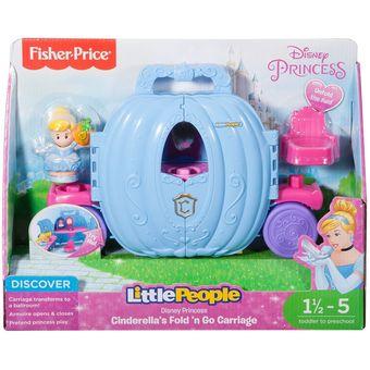 Compra Little People - Disney Princesas - Cenicienta Carroza Mágica ... e298f348b194