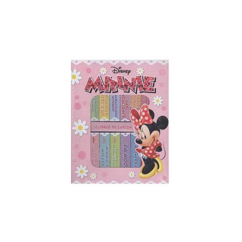 Mi Primer Biblioteca Minnie X12Libro