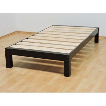 Compra base para cama individual tradicional desarmable for Construccion de muebles de madera pdf