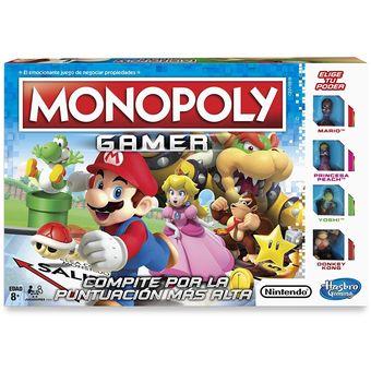Compra Hasbro Gaming Juego De Mesa Monopoly Gamer Online Linio Mexico