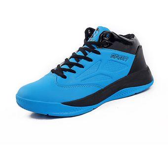 15d539a91 Zapatos De Baloncesto Para Hombre TENIS ZAPATILLAS Calzado Deportivo -Azul