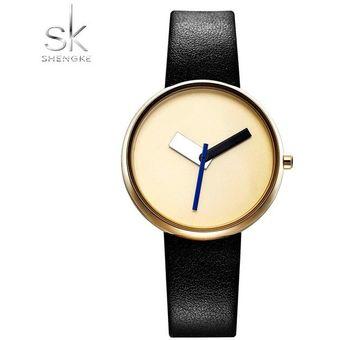 37f1d3e4864b Compra Lujo Mujer Sencillo Reloj Cuero Casual Estilo Design-Negro ...