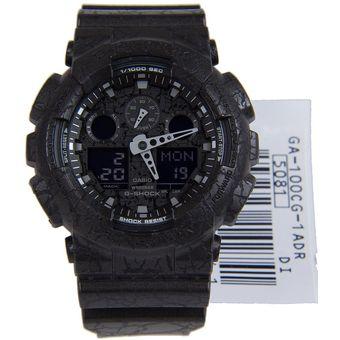 8091a9309e32 Compra Reloj Casio G-SHOCK Ga-100CG-1A Resina Negra Para Caballero ...