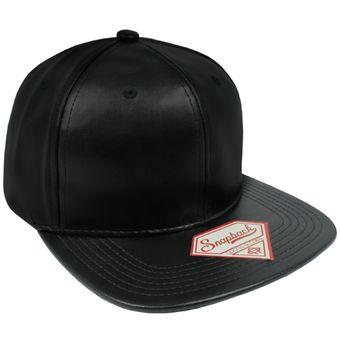 Compra GORRA SNAPBACK PIEL BLACK online  6c4917ba2cc
