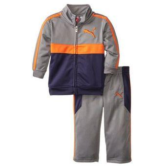 1ac8ff3c8 Compra PUMA - conjunto para bebe casaca y pantalon PUMA - multicolor ...