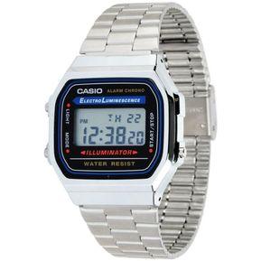 6b22dc83fbf1 Reloj Casio Vintage A168-Plateado