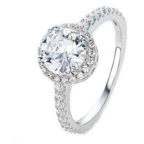 8611d628af24 Záffira - Anillo Compromiso De Plata Con Cristales Swarovski - Blanco