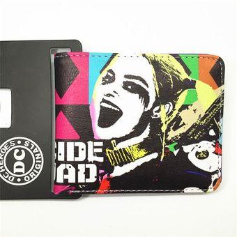 Juguetón Aniquilar Arashigaoka  Billetera de dibujos de DC, el Joker, Escuadrón suicida, Harley, billetera  | Linio Perú - GE582FA0LMYG3LPE