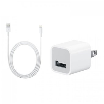 cc9e555df24 Agotado Cargador Apple Original + Cable Lightning Iphone 6s / 6+ / 6 / 5s /