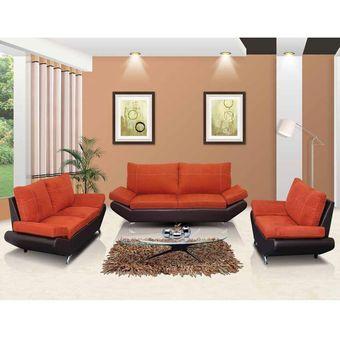 Compra sala tendezza 3 2 1 3 piezas marr n con chocolate for Muebles esquineros para sala