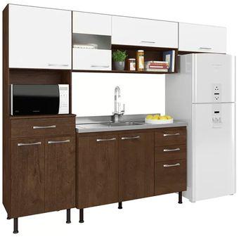 Compra Kit Cocina Mueble 8 Puertas 4 Gavetas 5725 Luma Fernapet ...