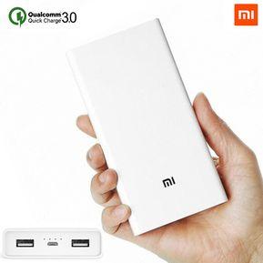 e63a2c23c99 Xiaomi Power Bank Cargador Portatil 20.000mAh Fast Charger 2 USB - 2C