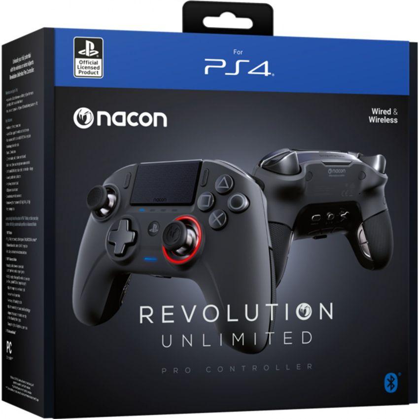 CONTROL PS4 NACON REVOLUTION UNLIMITED PRO CONTROLLER NEGRO