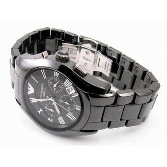 c784896ffc6e Compra Reloj Emporio Armani AR 5889 Caucho y Acero - Negro online ...