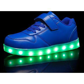 Zapatos azules Optimum Nutrition infantiles IgF3Snd6C7