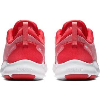 Tenis Running Mujer Nike Flex Experience Rn 8 Rosa con Blanco