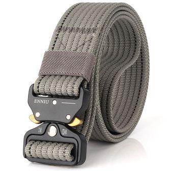 nuevo producto ef119 c1f3b Cinturón de hebilla para hombre Cinturón - Gris