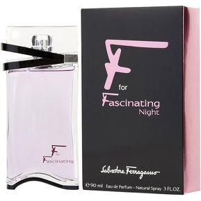 93b9a7bb7 Perfume Salvatore Ferragamo F For Fascinating Night Mujer Dama 3oz 90ml